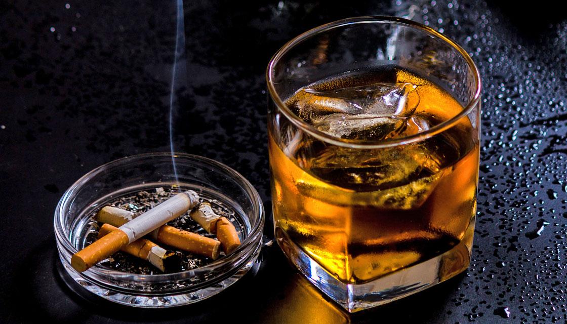 عدم مصرف الکل و دخانیات برای افزایش ترشح تستسترون