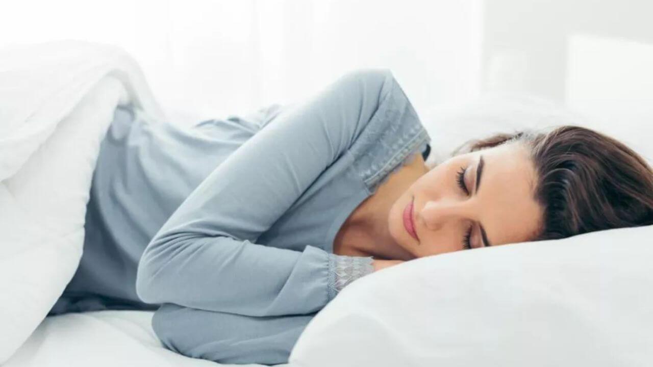 لاغری صورت با خواب خوب