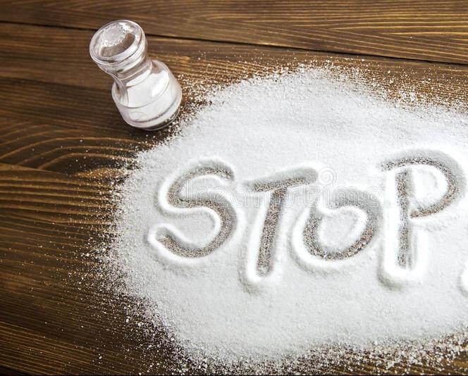 لاغری صورت با کاهش مصرف نمک