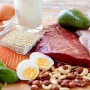 برای عضله سازی چه بخوریم