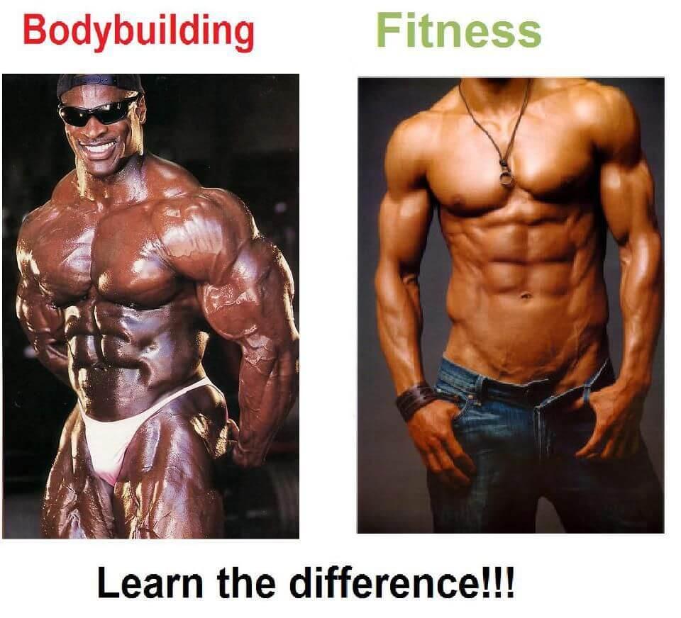 تفاوت فیتنس و بدنسازی